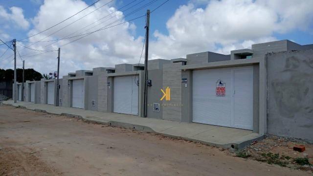 Casa Plana com 3 dormitórios sendo 2 suítes à venda, 90 m² por R$ 229.000 - Encantada - Eu