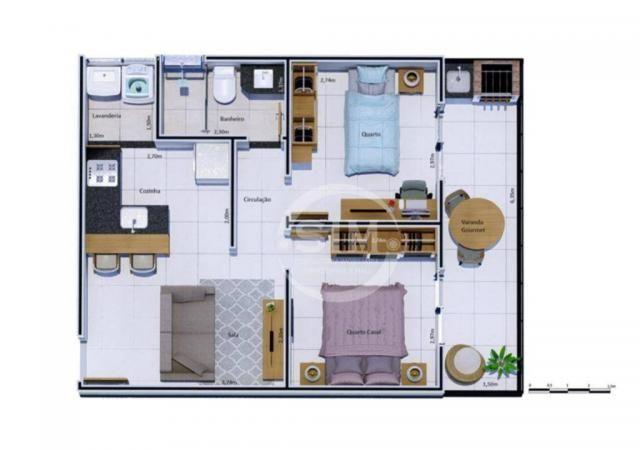 Cobertura com 2 dormitórios à venda, 81 m² - Nova São Pedro - São Pedro da Aldeia/RJ - Foto 17