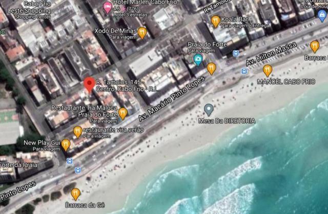 Apartamento a 150 metros da Praia do Forte Locação Anual ou Temporada - Foto 7