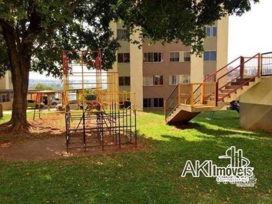 Apartamento com 2 dormitórios para alugar, 45 m² por R$ 550,00/mês - Jardim Ipanema - Mari - Foto 10