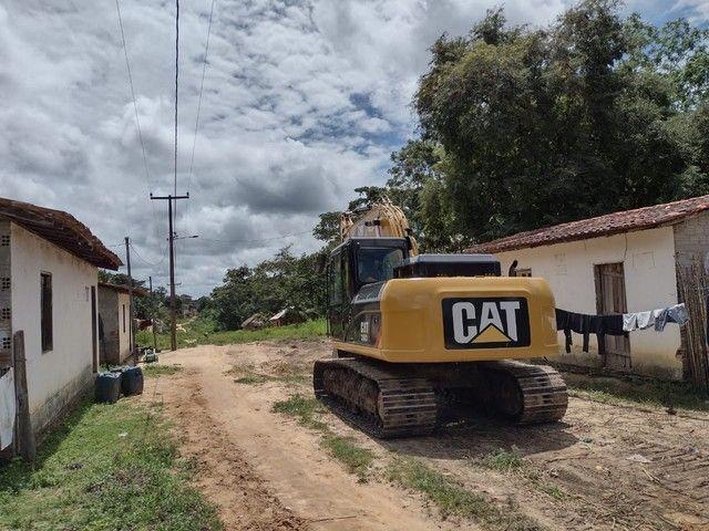 Escavedeira  hidráulica  cat 318D  - Foto 3