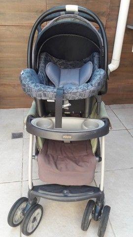 Carrinho de bebê e bebê conforto  - Foto 6