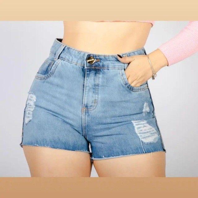 Fardo com 50 shorts jeans - Foto 2