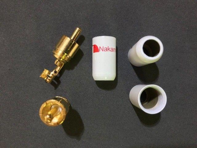 Conector Plug RCA Nakamichi - Foto 2