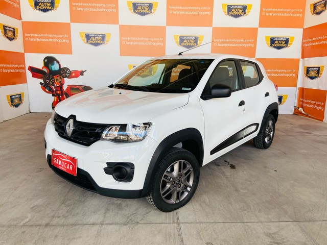 Renault kwid 1.0 2018 - aceito moto na troca
