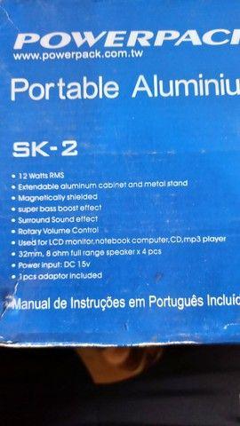 Caixa de som para computador e TABLET - Foto 3