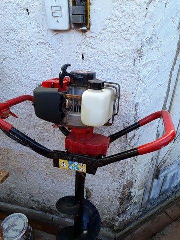Máquina de perfurar  solos com alongadores. - Foto 2