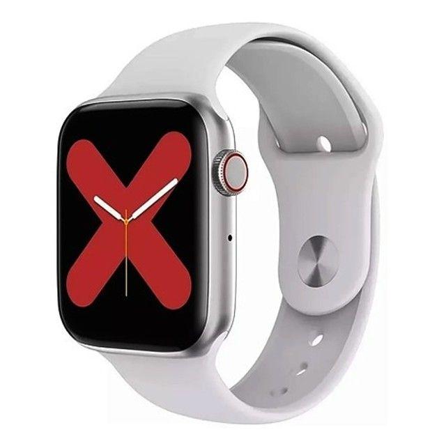 Relógio smartwatch w26 44mm original touch - Foto 2