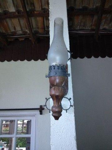 Arandela rústica luminária - Foto 2