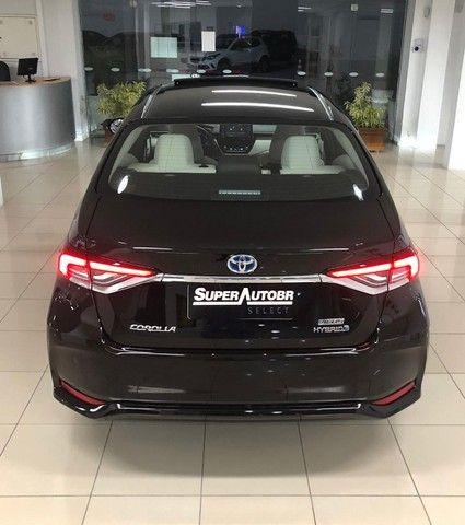 Imperdível!!! Toyota Corolla Altis Premium Hybrid 1.8AT 2021 com apenas 6 mil km! - Foto 14