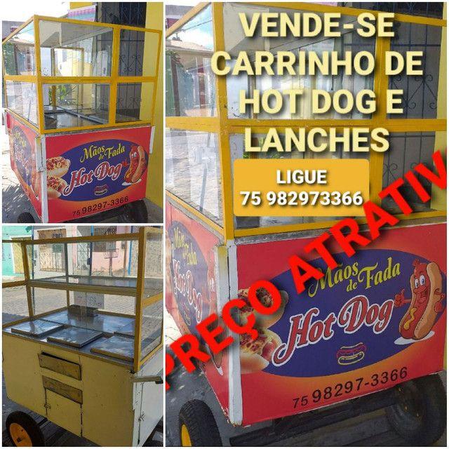 Carrinho de hot dog e lanches - Foto 3