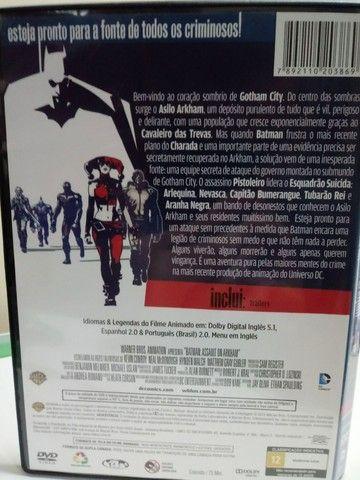 DVD Batman Assalto ao Arkham - Faço Envio. - Foto 3