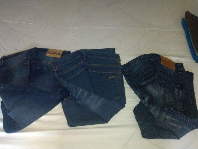3 calças Konik tamanho 38