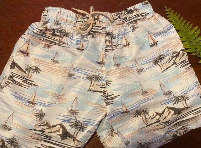 Shorts masculinos de praia - Foto 4
