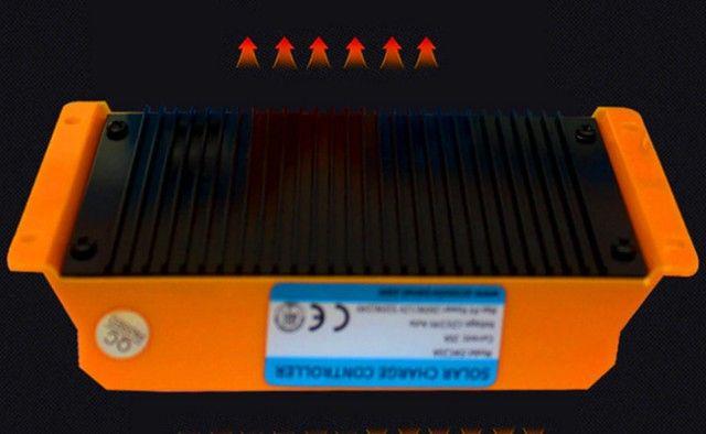 controlador de carga solar 30a tecnologia alemã,12v/24v automático - Foto 3