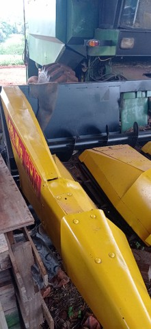 Plataforma de milho 6 linha de 70 2003 troca  - Foto 2