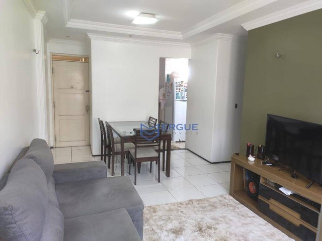 Apartamento com 3 dormitórios à venda, 75 m² por R$ 190.000 - Benfica - Fortaleza/CE - Foto 6