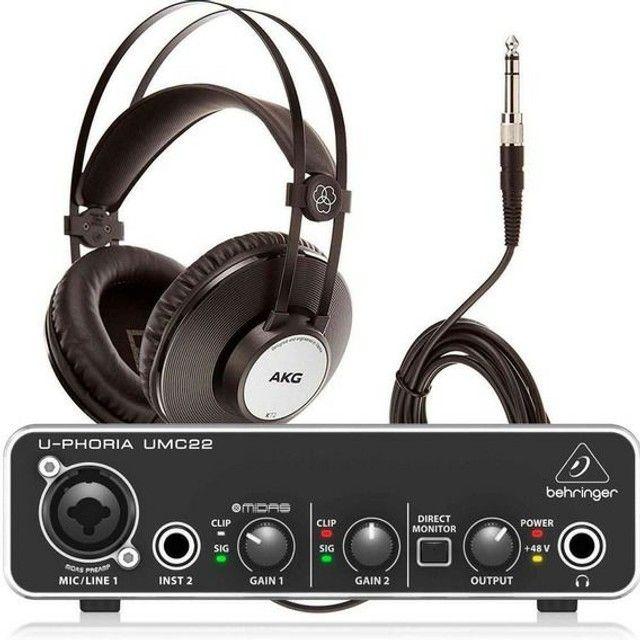 Interface de Áudios U-Phoria Umc22