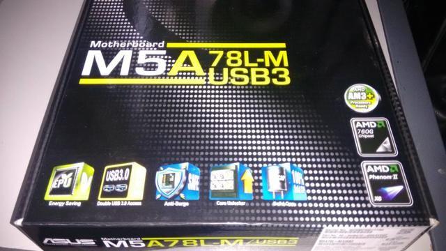 Placa Mãe Asus M5A78L-M.