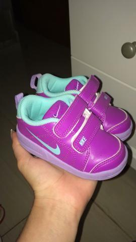 Tênis Nike infantil em perfeito estado