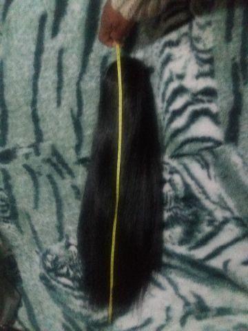 Rabo de cabelo liso
