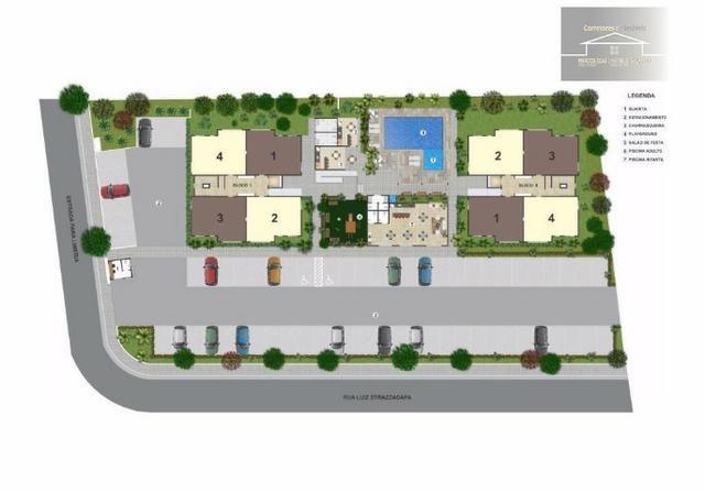 Lançamento de condomínio de apartamentos em Cosmópolis-SP (AP0014) - Foto 4