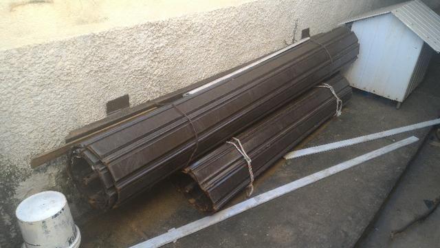 Portas de aço usadas