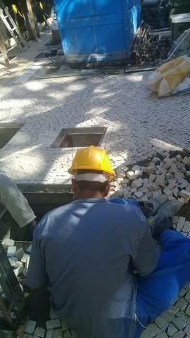 Pedra Portuguesa Calceteiro Colocador Calçada Parede e Vendas. * WhatsApp - Foto 5