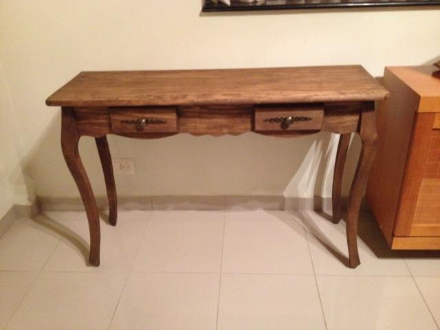 Aparador madeira luis XV na cor rustica - Foto 3