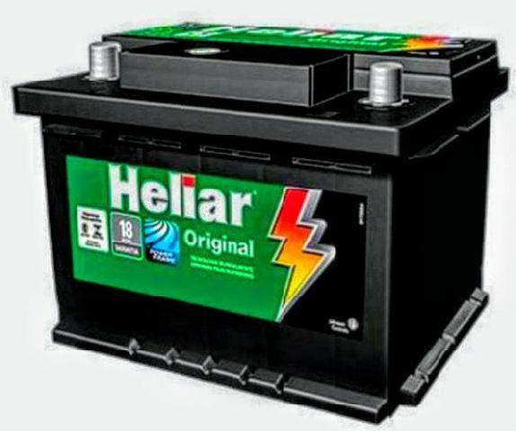Bateria Heliar 60Ah Promoção!!!