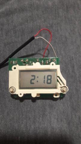 1ac135e6251 Relógio digital do painel do Gol GTS