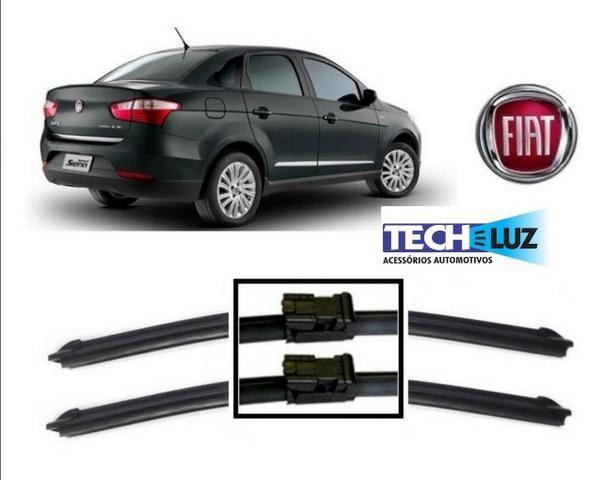 Palheta Limpador Parabrisa Especifica Citroen Peugeot Vw Hyundai Fiat Honda Toyota - Foto 6