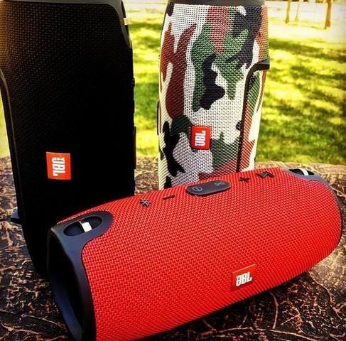 Caixa De Som JBL Xtreme Media Bluetooth Android iOS Música - Foto 2