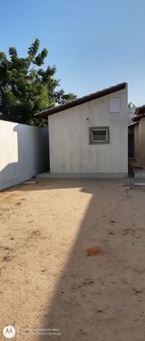 Casa plana no eusébio com terreno grande - Foto 20