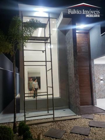 Casa exuberante de Alto Padrão com 02 suítes, 01 closet e churrasqueira - Foto 12