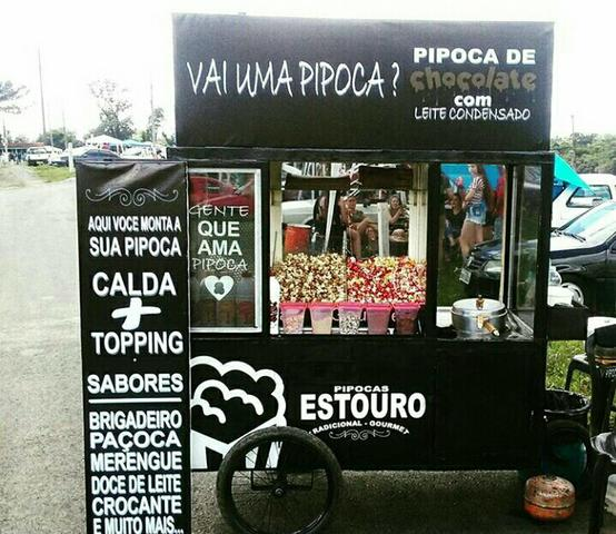 Carrinho de Pipoca Churros Food Bike - Foto 4