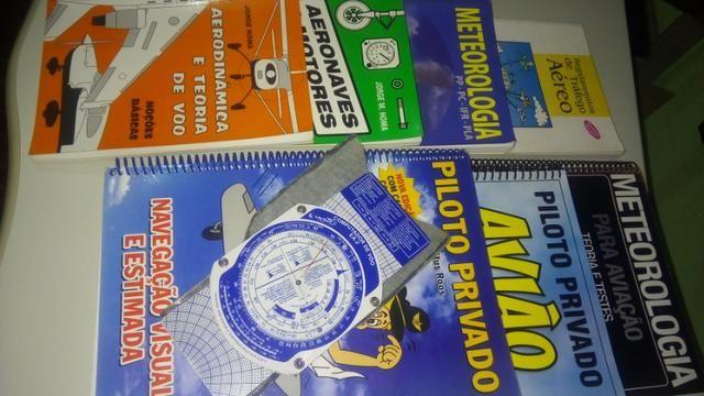 Kit Livros Piloto Privado + Computador de Voo
