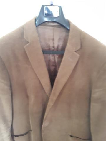 Blazer masculino Buckman de veludo - marrom tam. 56. - lindo - Foto 2
