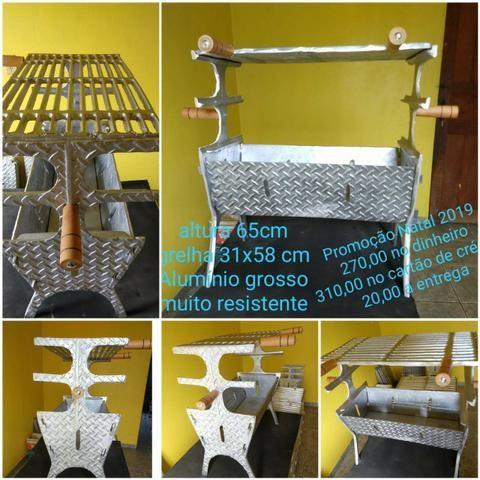 Churrasqueira de aluminio - Foto 2