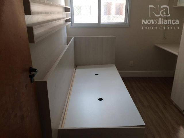 Apartamento com 3 quartos para alugar, 85 m² por R$ 1.500/mês - Itapuã - Vila Velha/ES - Foto 18