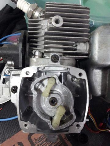 Motor 26cc roçadeira e automodelo - Foto 5