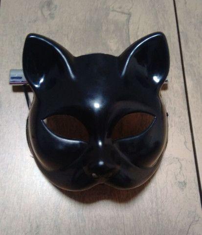 Máscara Gatinha Fantasia
