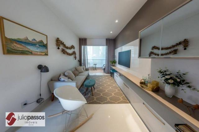 Apartamento com 2 dormitórios à venda, 73 m² por R$ 646.416,14 - Jardins - Aracaju/SE - Foto 2