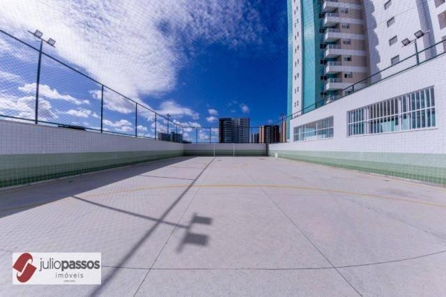 Apartamento com 2 dormitórios à venda, 73 m² por R$ 646.416,14 - Jardins - Aracaju/SE - Foto 15