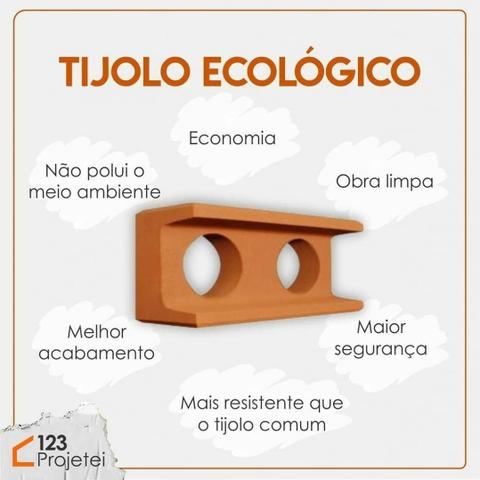 Construção com Tijolos Ecologicos ( Economia e Qualidade)