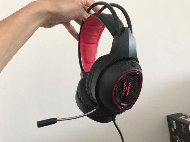 Headset Gamer com LED / Gt-F4 Lehmox - Foto 4