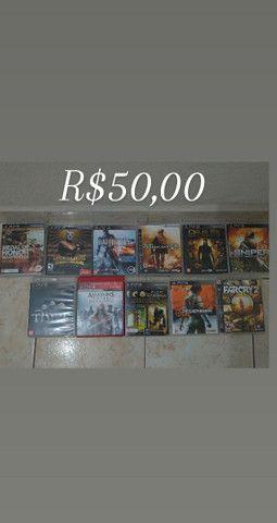 Jogos semi novos originais para PS3  - Foto 3