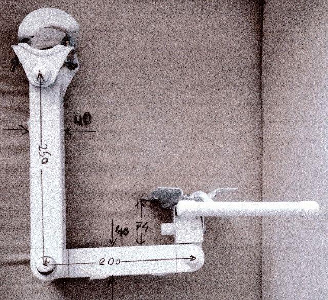 Suporte Lcd/tablet para Cadeira Odontológica - Foto 4
