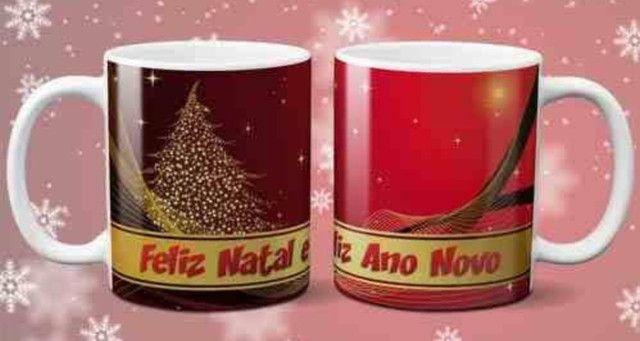 Canecas de cerâmica Natalinas - Foto 6