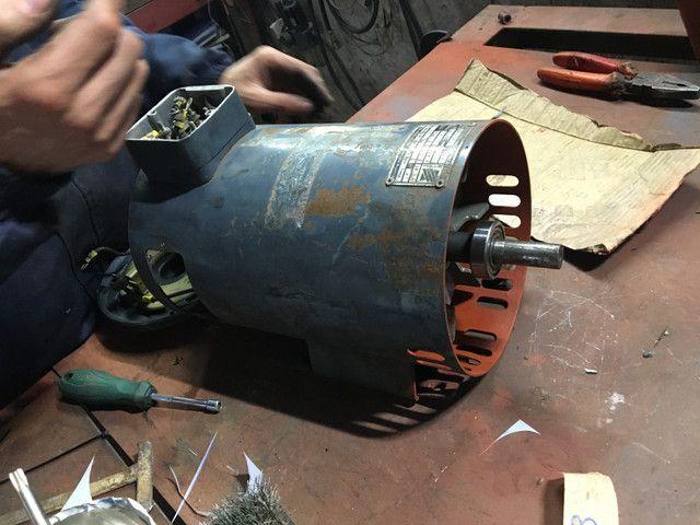 Motor elétrico corrente contínua 1,5 cv - Foto 6